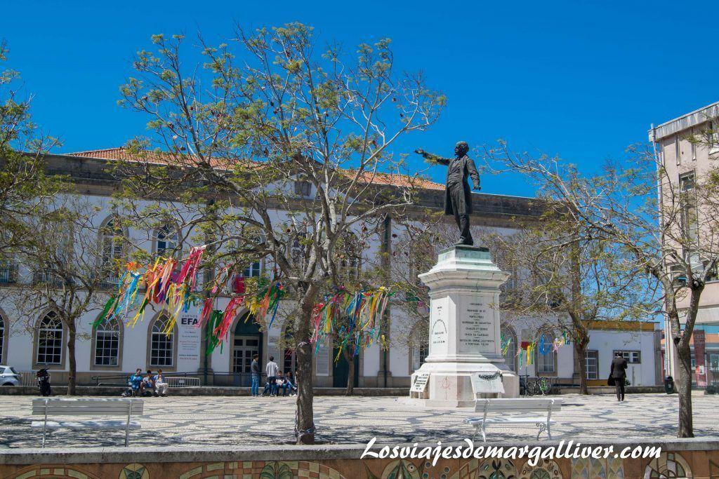 Plaza de la república en Aveiro - Los viajes de Margalliver