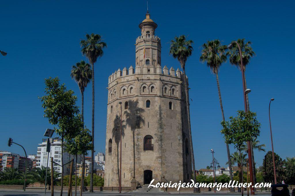 La torre del Oro en la Sevilla americana - Los viajes de Margalliver