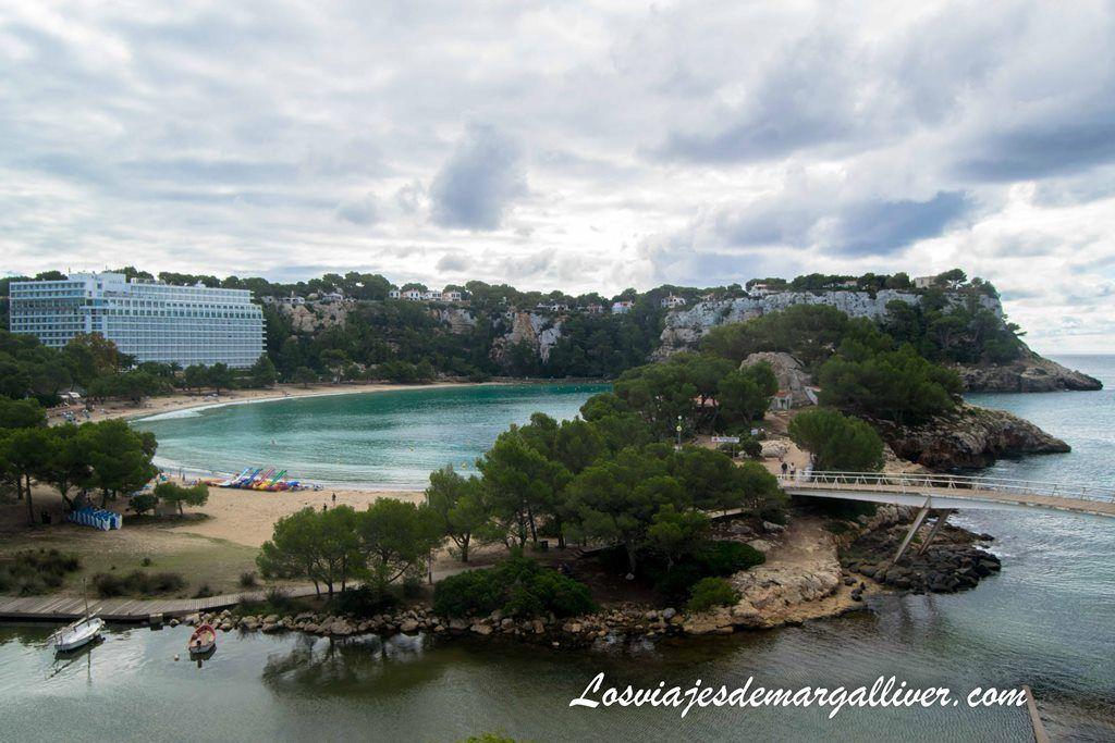 Vistas desde el hotel Artiem Audax - Cala Galdana en Menorca - Los viajes de Margalliver