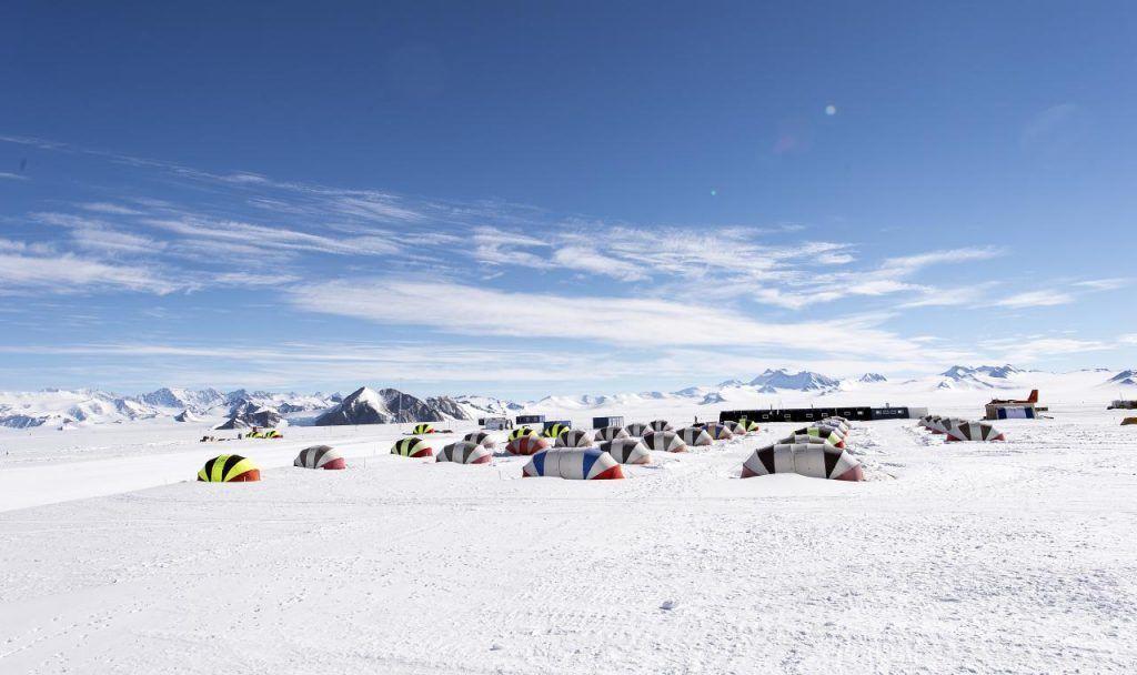 Campamento de Unión Glacier en el polo Sur - Los viajes de Margalliver