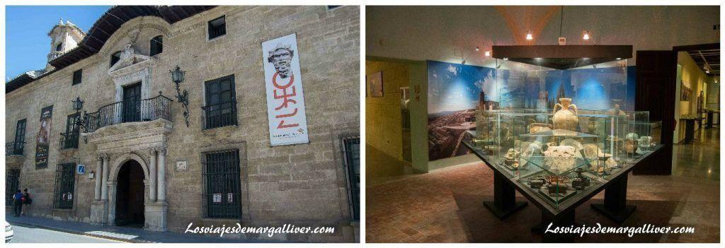 Palacio Abacial y su museo arqueológico de Alcalá la Real - Los viajes de Margalliver