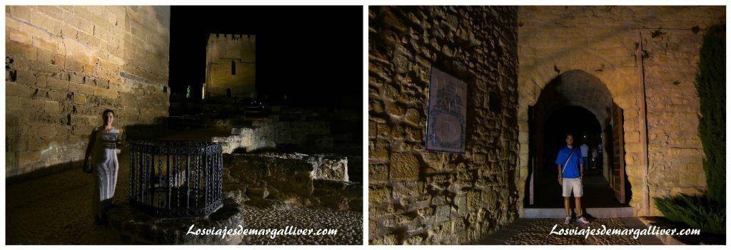 Visita nocturna a la fortaleza de la Mota - Los viajes de Margalliver