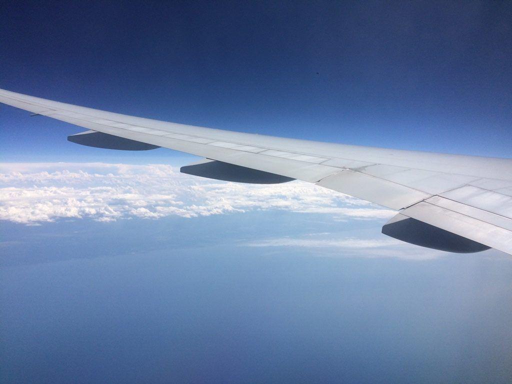 volando sobre las nubes, superando el miedo a volar - Los viajes de Margalliver