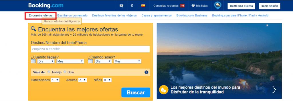 Hoteles baratos con Booking, encontrar ofertas - Los viajes de margalliver