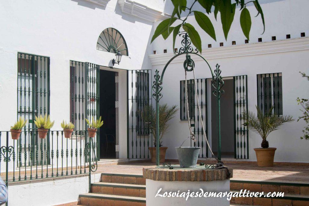 Qué ver en Moguer , patio Casa natal de JR Jiménez en Moguer - Los viajes de Margalliver