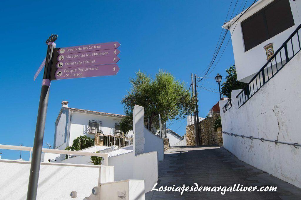 Ruta barrio de las cruces en Alcalá la Real - Los viajes de Margalliver