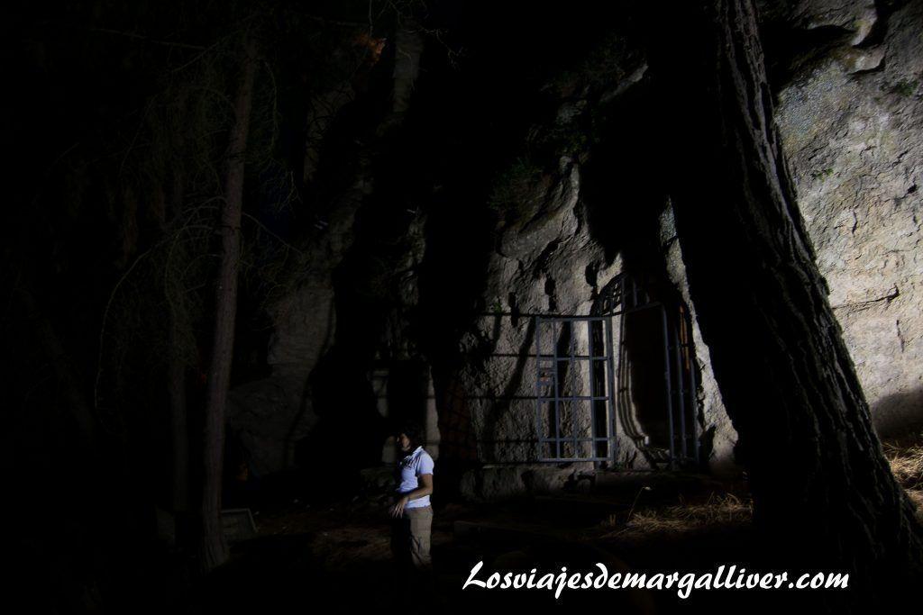 Visita al túnel de la fortaleza de la mota en Alcalá la Real - Los viajes de Margalliver