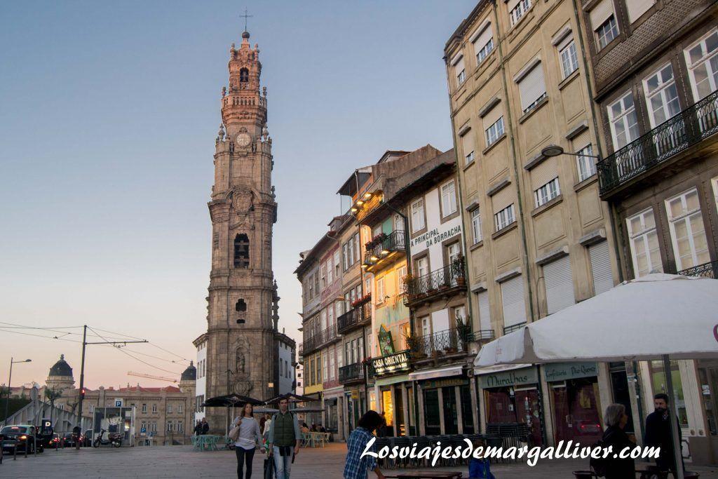 Torre de los Clérigos de Oporto - Los viajes de Margalliver