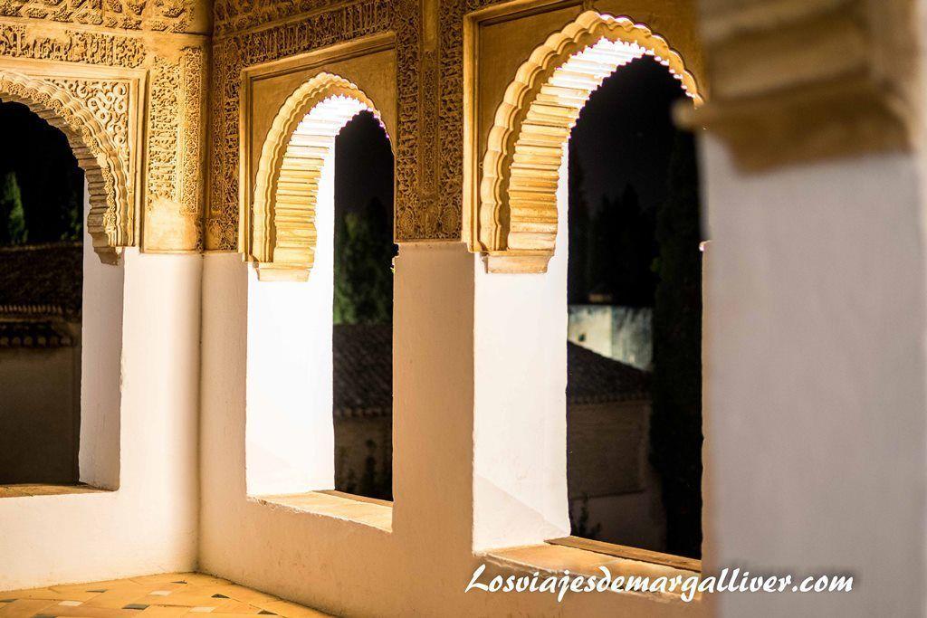 Visita al Generalife de la Alhambra de noche, visitar Granada - Los viajes de Margalliver
