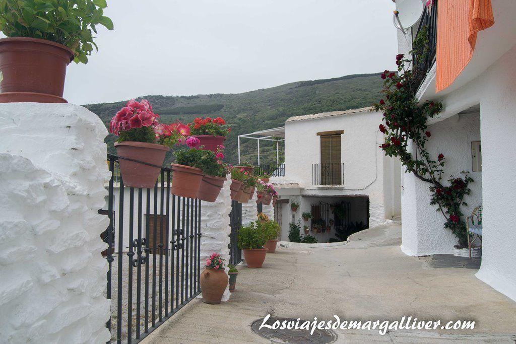 vistas a la sierra desde el pueblo de Capileira en la Alpujarra de Granada - Los viajes de Margalliver