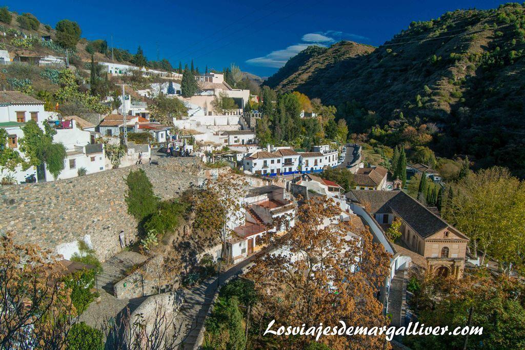 """Mirador """"Vereda de Enmedio"""" en el Sacromonte, visitar Granada - Los viajes de Margalliver"""