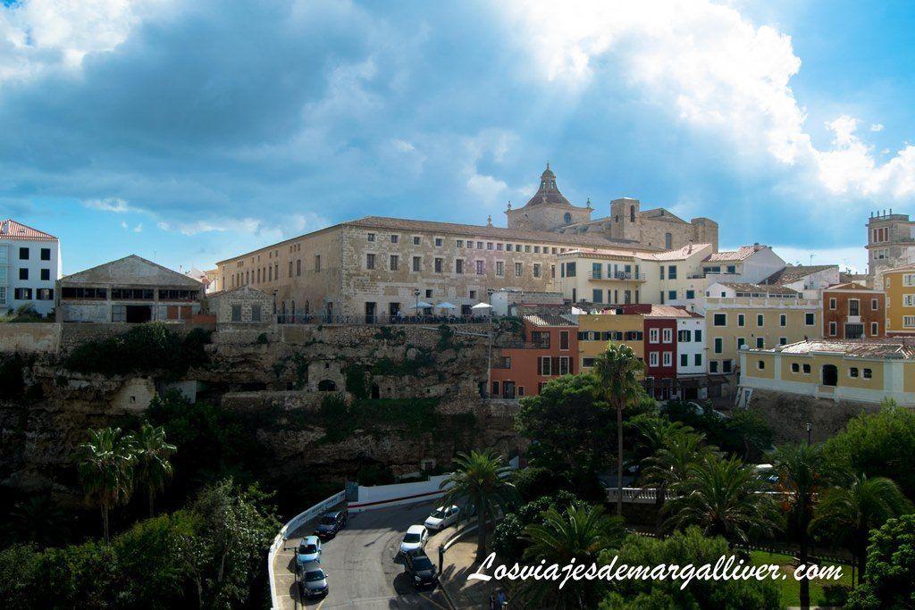 vistas de Mahón , Menorca en temporada baja, Los viajes de Margalliver