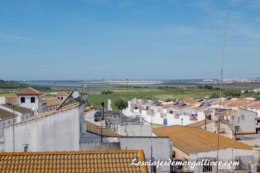 Qué ver en Moguer , vistas desde la azotea de la casa natal de JR Jiménez en Moguer - Los viajes de Margalliver