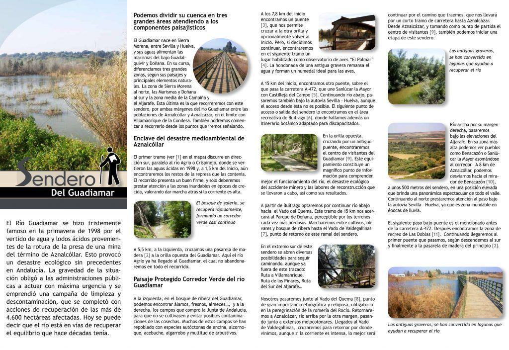 Sendero del Guadiamar, El rocío en Sevilla - Los viajes de Margalliver