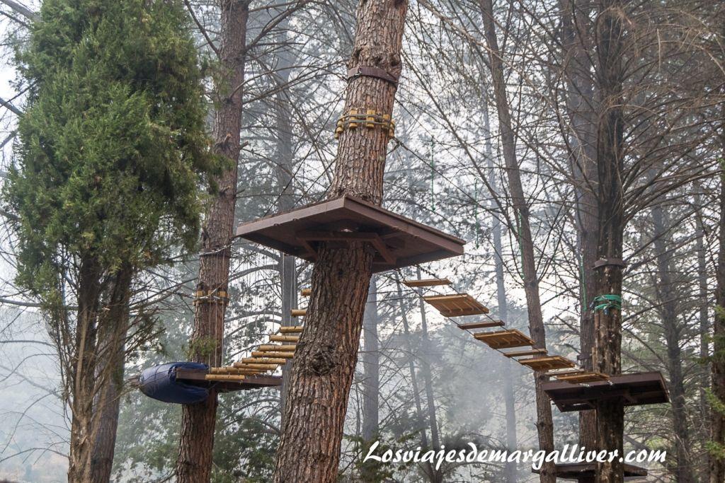Bosque suspendido en Cazalla de la Sierra, Geoparques de Andalucía - Los viajes de Margalliver
