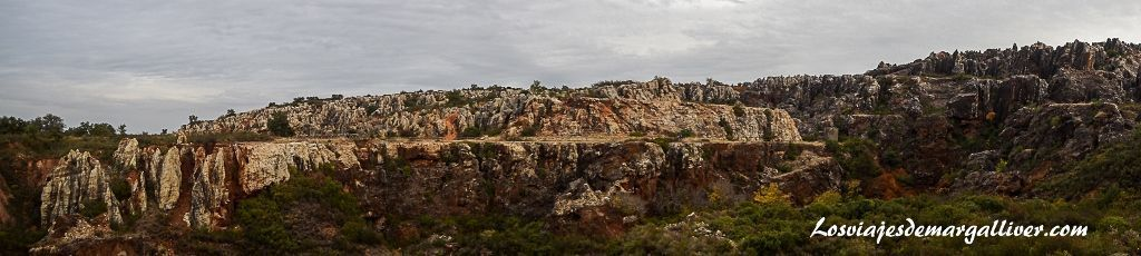 Cerro del Hierro en el Geoparque Sierra Norte de Sevilla, geoparques de Andalucía - Los viajes de Margalliver