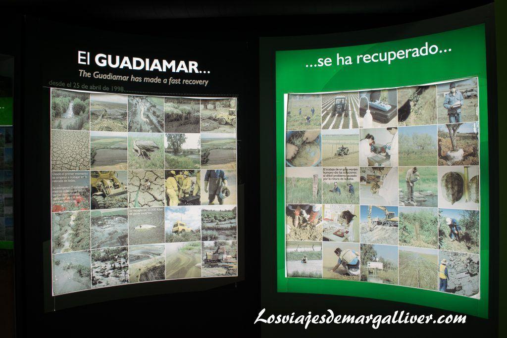 Centro de interpretación de Guadiamar Educa - Los viajes de Margalliver