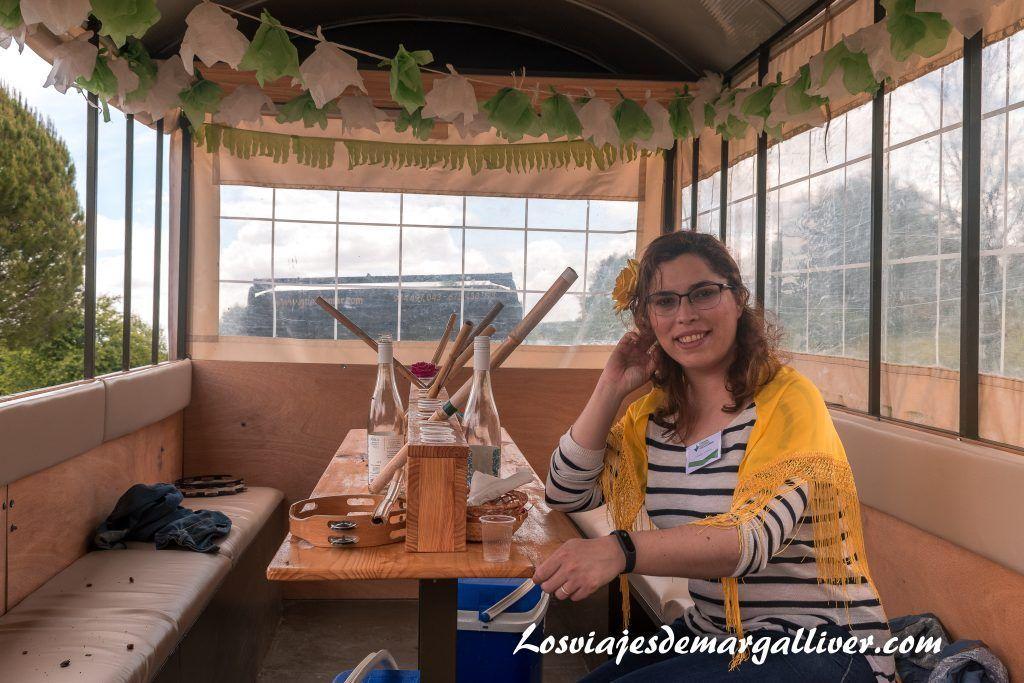 Margalliver en nuestra carriola, ruta de el Rocío en Sevilla - Los viajes de Margalliver
