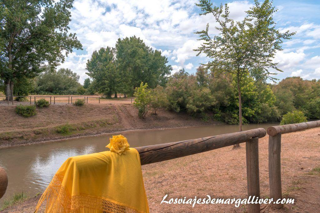 Nuestro mantoncillo en el vado del Quema, El rocío en Sevilla - Los viajes de Margalliver