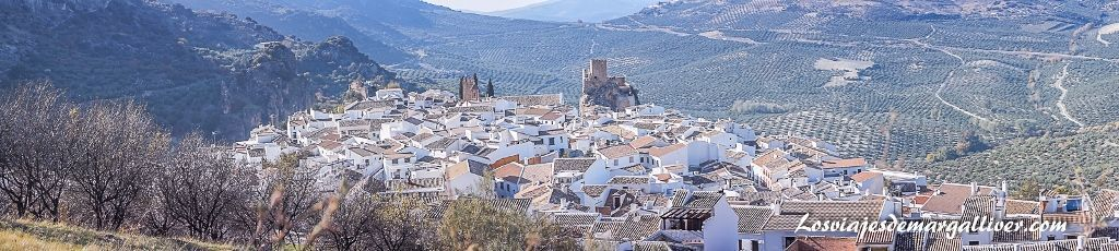 Panorámica de Zuheros en el Geoparques de la Subbética, geoparques de Andalucía - Los viajes de Margalliver