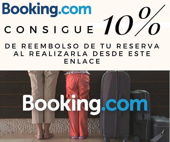 descuento 10 por ciento al reservar en booking - Los viajes de Margalliver
