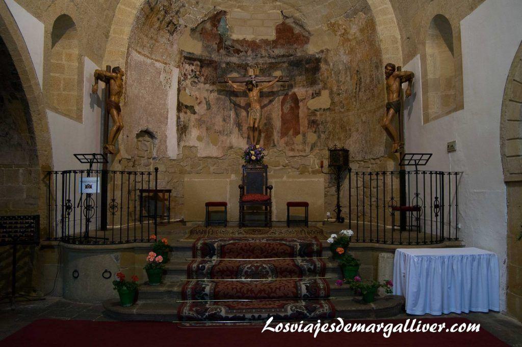 iglesia santa cruz en Baeza, Jaén - Los viajes de Margalliver