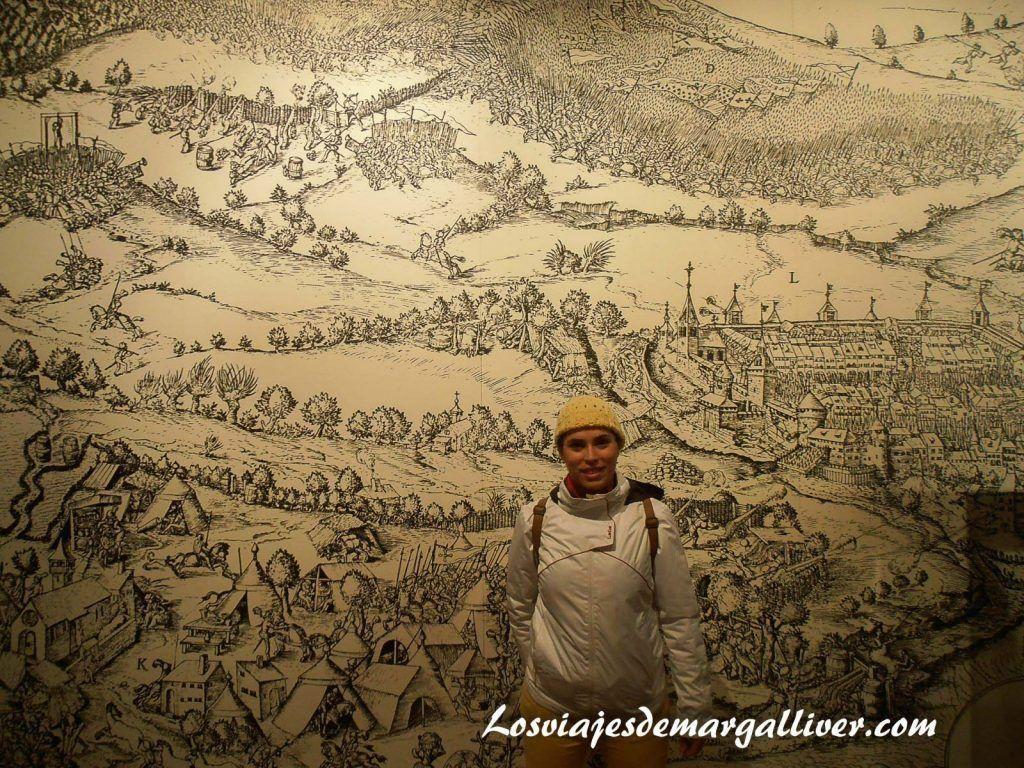 Tapiz situado en el castillo de St Germain , que ver en Gruyeres en un día - Los viajes de Margalliver