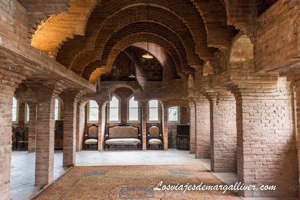 Planta sin terminar en la torre bellesguard de Gaudí - Los viajes de Margalliver