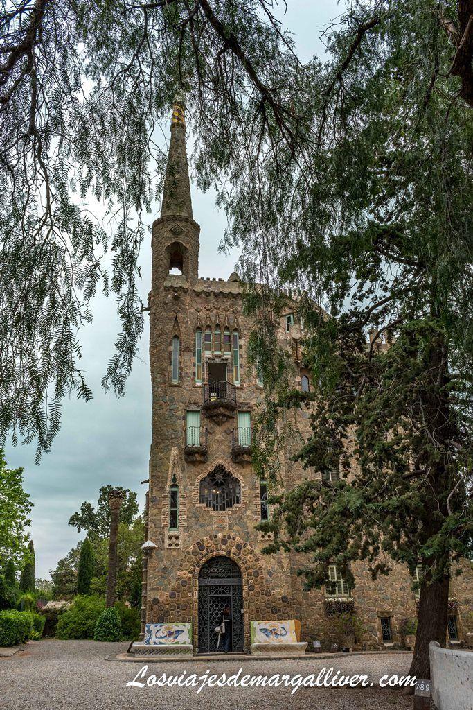 La torre Bellesguard de Barcelona - Los viajes de Margalliver
