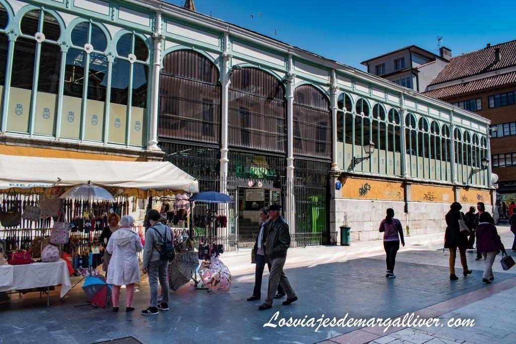 Mercado del Fontán en Oviedo, que ver en dos días en Oviedo - Los viajes de Margalliver