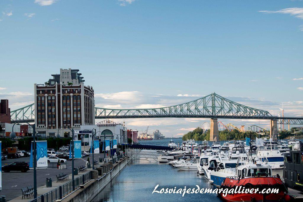 Viejo puerto de Montreal - Los viajes de Margalliver