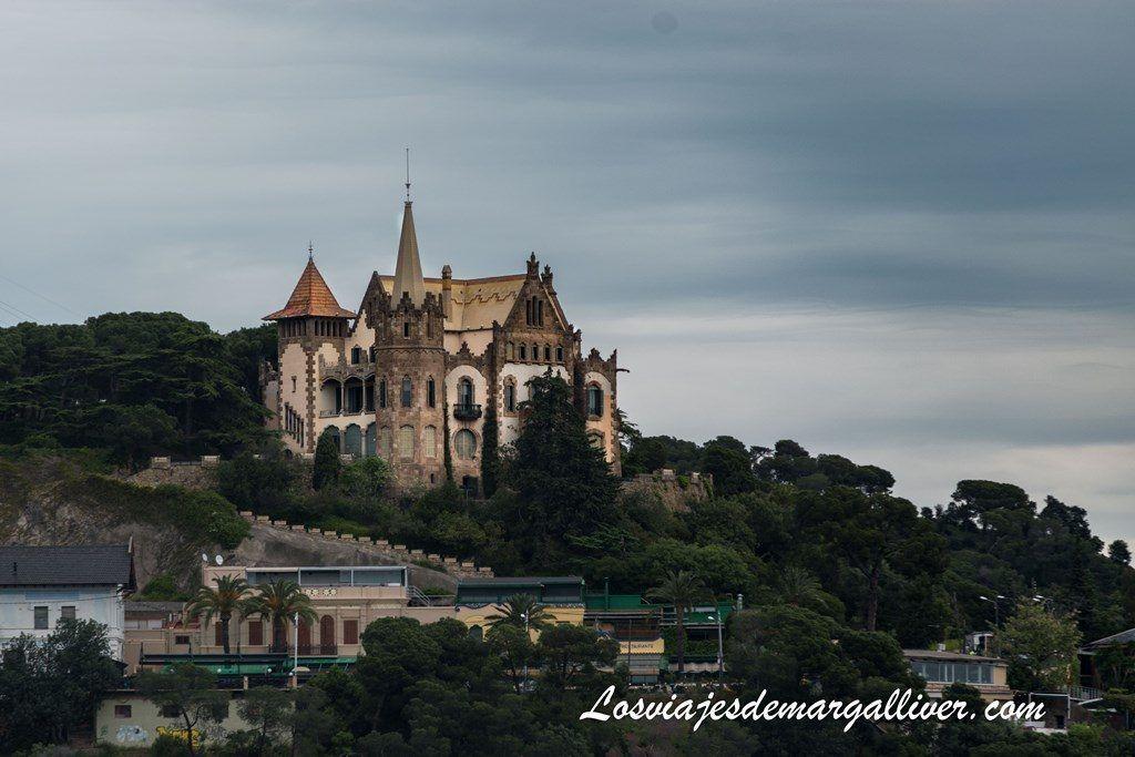 Vistas desde la Torre bellesguard de Gaudí - Los viajes de Margalliver
