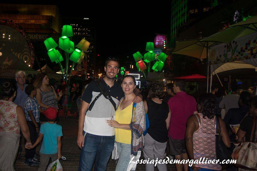 Festival del Humor en la Rue St Catherine ,10 cosas que hacer en Montreal - Los viajes de Margalliver