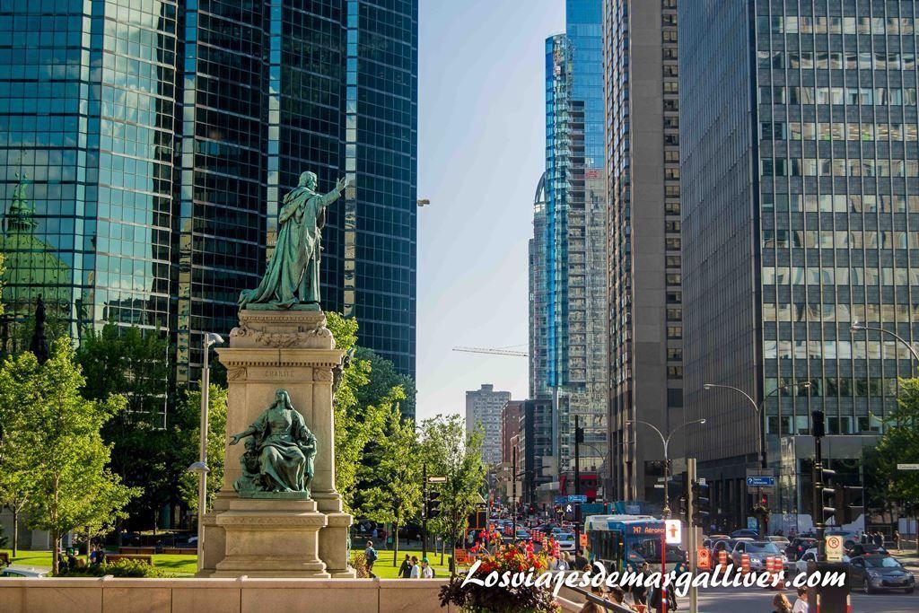 Barrio financiero de Montreal, que hacer en Montreal - Los viajes de Margalliver