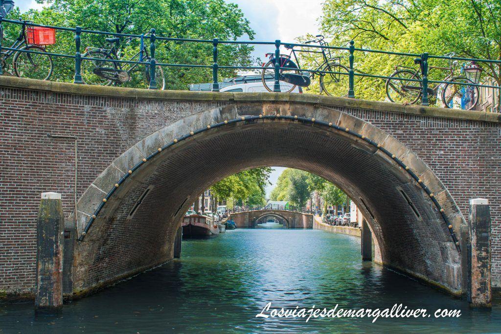 Canal de los 7 puentes - Ámsterdam en 3 días - Los viajes de Margalliver