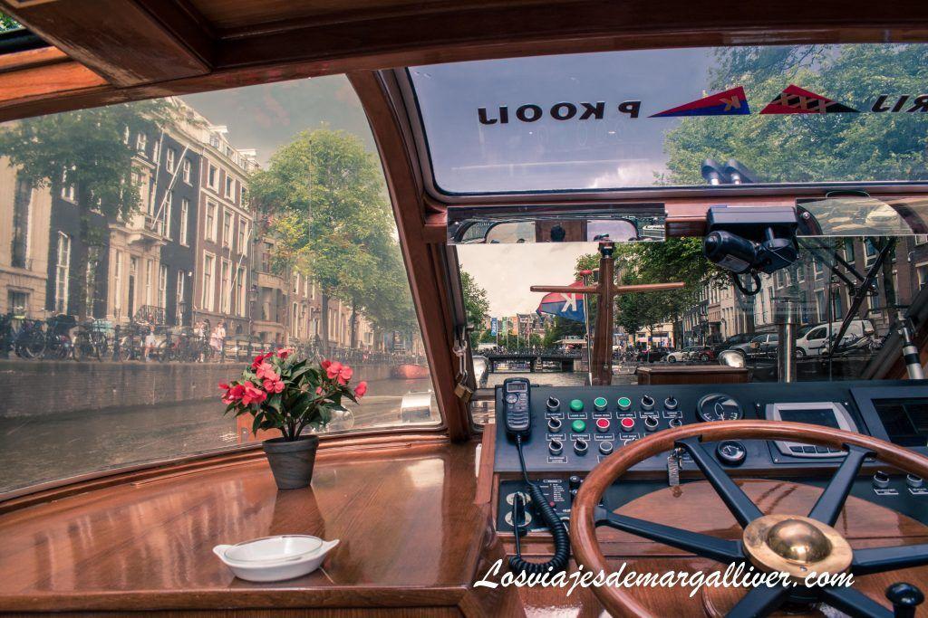 Paseo en barco por los canales de Ámsterdam, Ámsterdam en 3 días - Los viajes de Margalliver