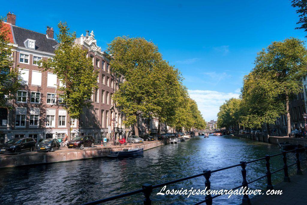Curva de oro de Ámsterdan en el canal del Herengracht - Ámsterdam en 3 días - Los viajes de Margalliver