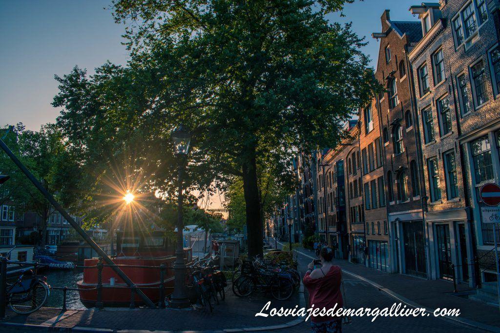 El canal deBrouwersgracht - Ámsterdam en 3 días - Los viajes de Margalliver