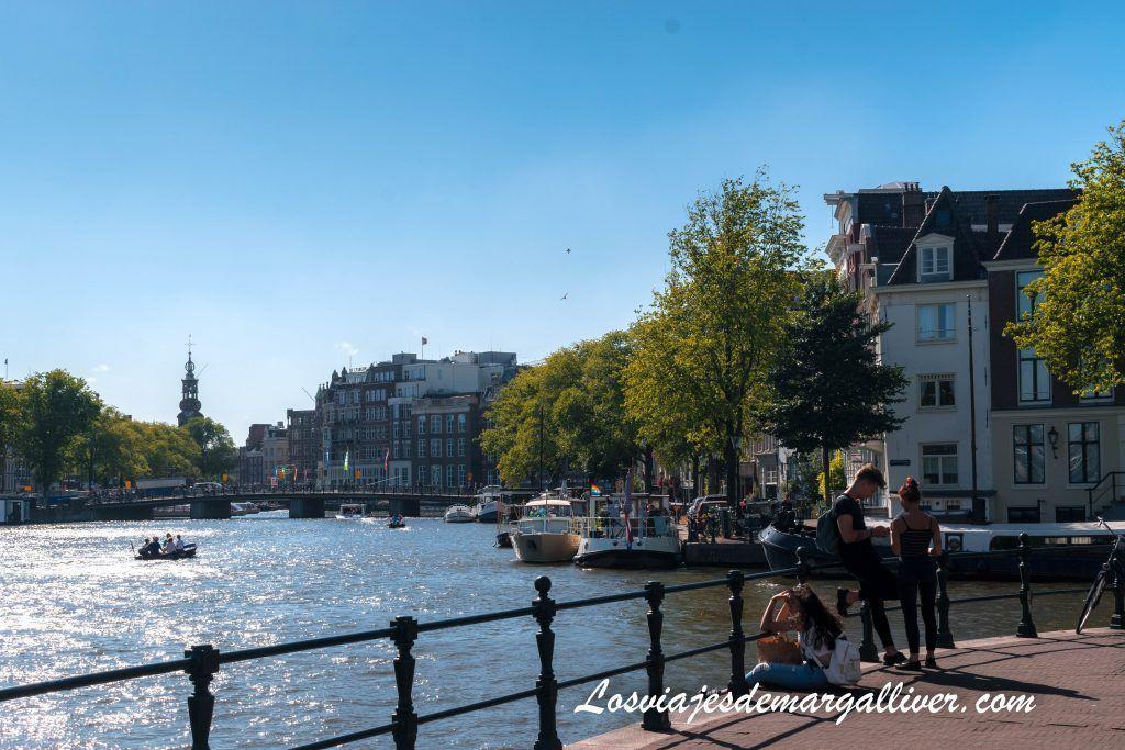 El río Amstel - Ámsterdam en 3 días - Los viajes de Margalliver