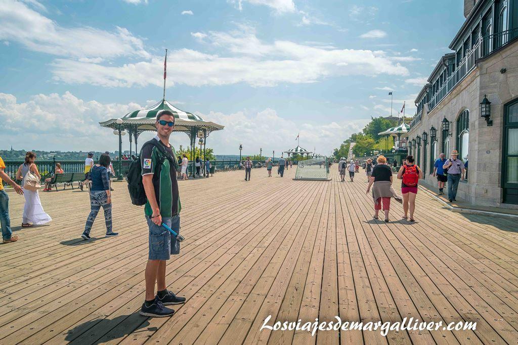 Les Glissades de la Terrasse , Que ver en Quebec en un día - Los viajes de Margalliver