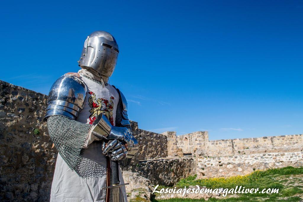 Caballero calatravo de Alcaudete después de un combate, pueblos de Jaén - Los viajes de Margalliver