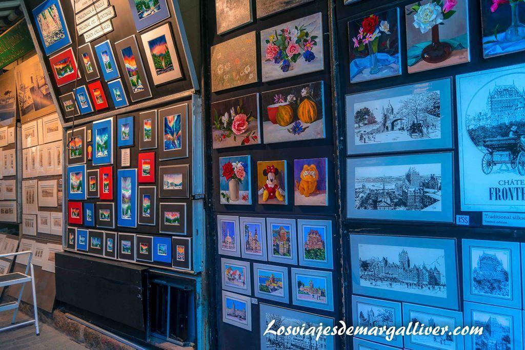 Rue du Trésor , que ver en Quebec en un día - Los viajes de Margalliver