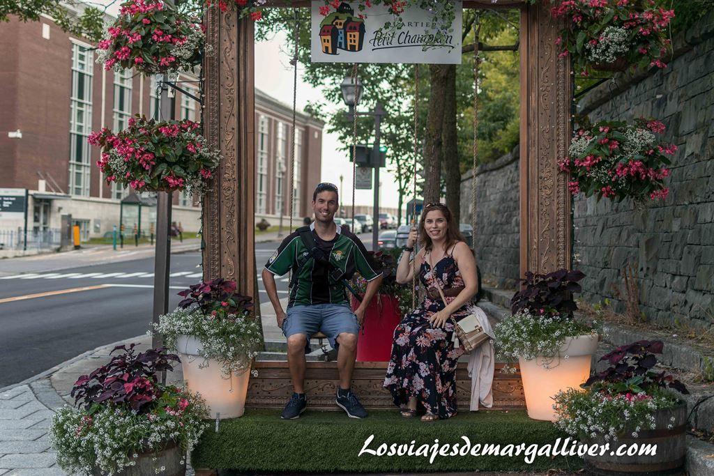 El equipo Margalliver en Quebec, ruta de un día - Los viajes de Margalliver