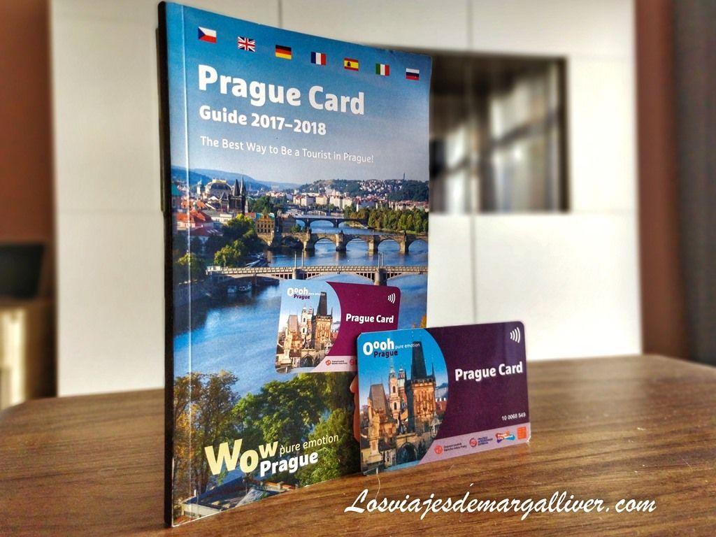 Prague Card con su guía - Los viajes de Margalliver