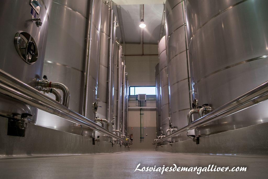 Tanques de aceite de oliva de Picualia , pueblos de Jaén - Los viajes de Margalliver
