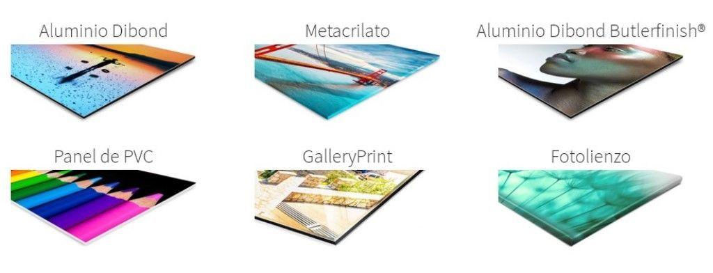 Tipos de material del cuadro de saal digital - opinión de mi cuadro de Saal Digital - Los viajes de Margalliver