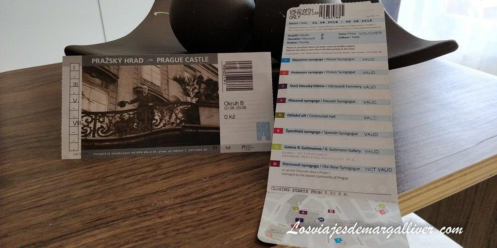 Tickets del Castillo de Praga y de las sinagogas y cementerio judío incluidos en la Prague Card - Los viajes de Margalliver