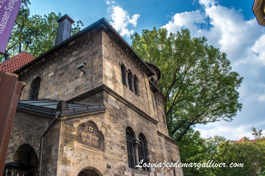 Sinagoga de Klaus,,Ceremonial Hall en la ruta de sinagogas por Praga - Los viajes de Margalliver