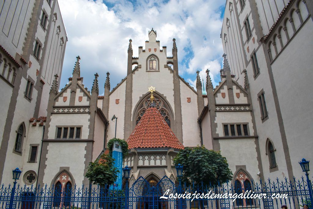 Ruta por las sinagogas de Praga:Sinagoga Maisel Maiselova synagoga - Los viajes de Margalliver