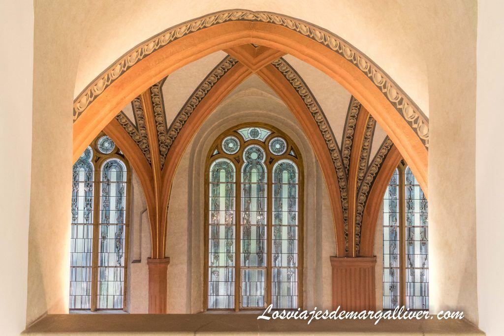Ruta por las sinagogas de Praga: Interior de la Sinagoga Pinkas /Pinkasova synagoga - Los viajes de Margalliver